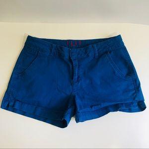 Elle Paris blue shorts size 8